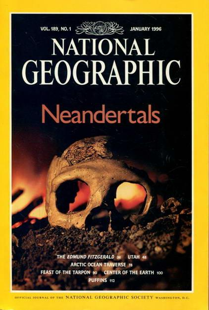 National Geographic Vol: 189 No. 1 January: National Geographic Society