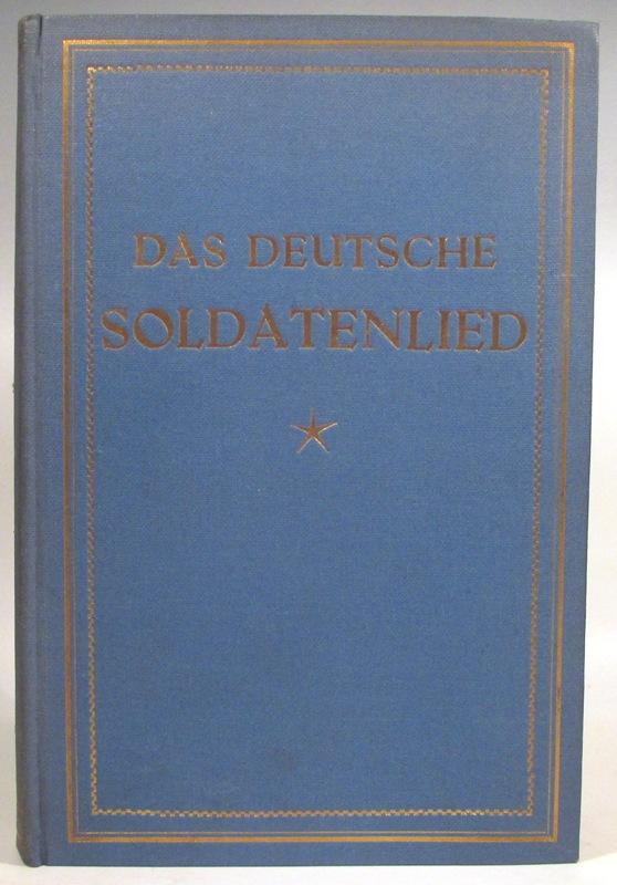Das deutsche Soldatenlied wie es heute gesungen: Klabund (d. i.