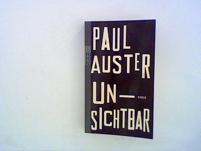 Unsichtbar: Auster, Paul: