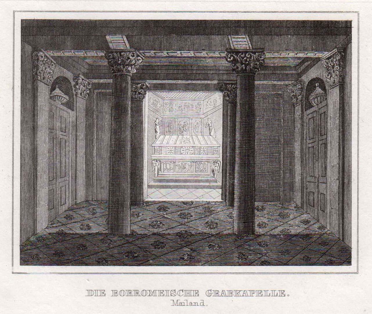 TA., Grabkapelle des Borromäus.: Mailand ( Milano