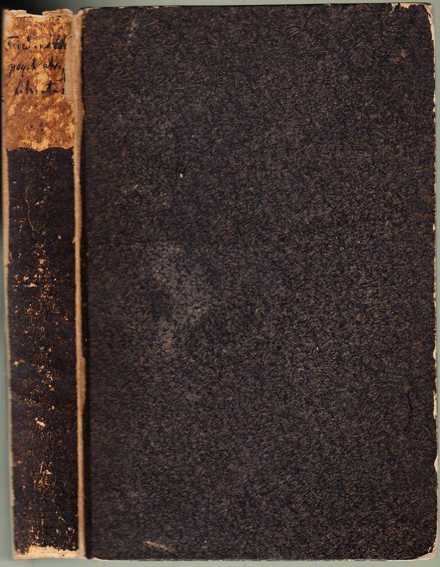 Zur psychiatrischen Literatur des neunzehnten Jahrhunderts (1801: Friedreich, J(ohann) B(aptist):