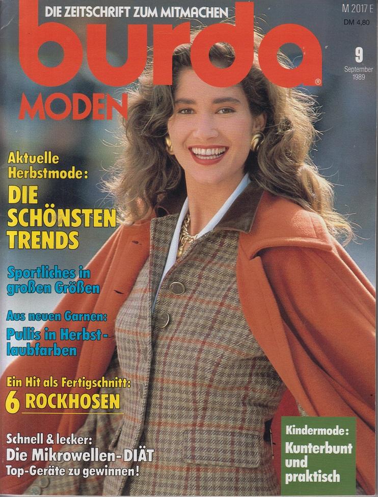 burda Moden, September 1989 (Nachdruck von 2017): Burda, Aenne, Ingrid