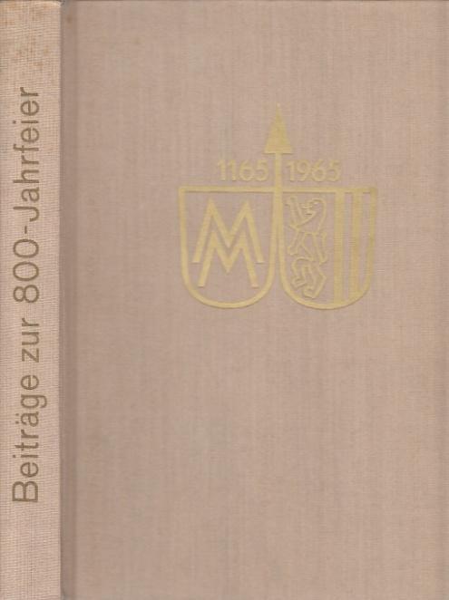 Beiträge zur 800-Jahrfeier Leipziger Messe. Inhalt: 1.: Leipziger Messeamt (Hrsg.):