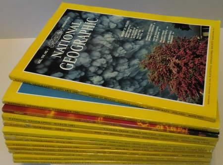 12 Englische Hefte: National Geographic Vol. 159: National Geographic Society