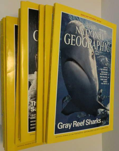 12 Englische Hefte: National Geographic Vol. 187: National Geographic Society