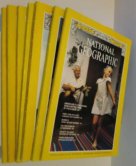 7 Englische Hefte: National Georgraphic Vol. 155: National Geographic Society