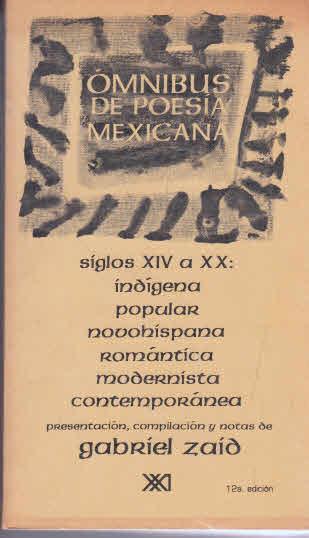 Omnibus de poesia mexicana