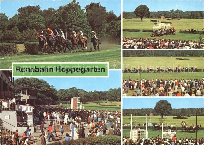 Postkarte Carte Postale Dahlwitz-Hoppegarten Rennbahn