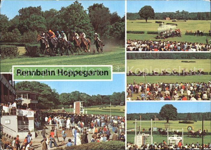Postkarte Carte Postale Dahlwitz-Hoppegarten Pferde-Rennbahn