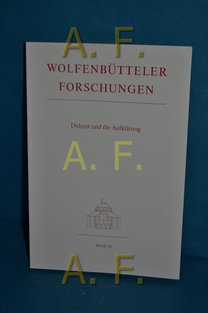 Diderot und die Aufklärung : [Vorträge gehalten: Dieckmann, Herbert [Herausgeber]: