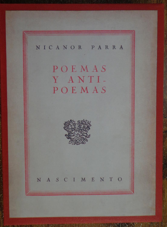 Parra Nicanor Poemas Antipoemas Used Abebooks