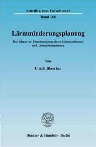 Lärmminderungsplanung. -Language: German