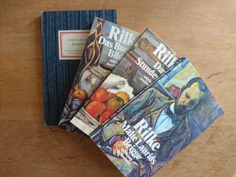 4 Bände: Rilke, Rainer Maria