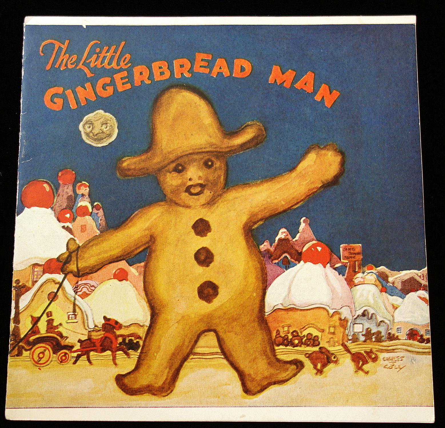 """Royal Baking Powder Company's """"The Little Gingerbread: Charles J. Coll"""