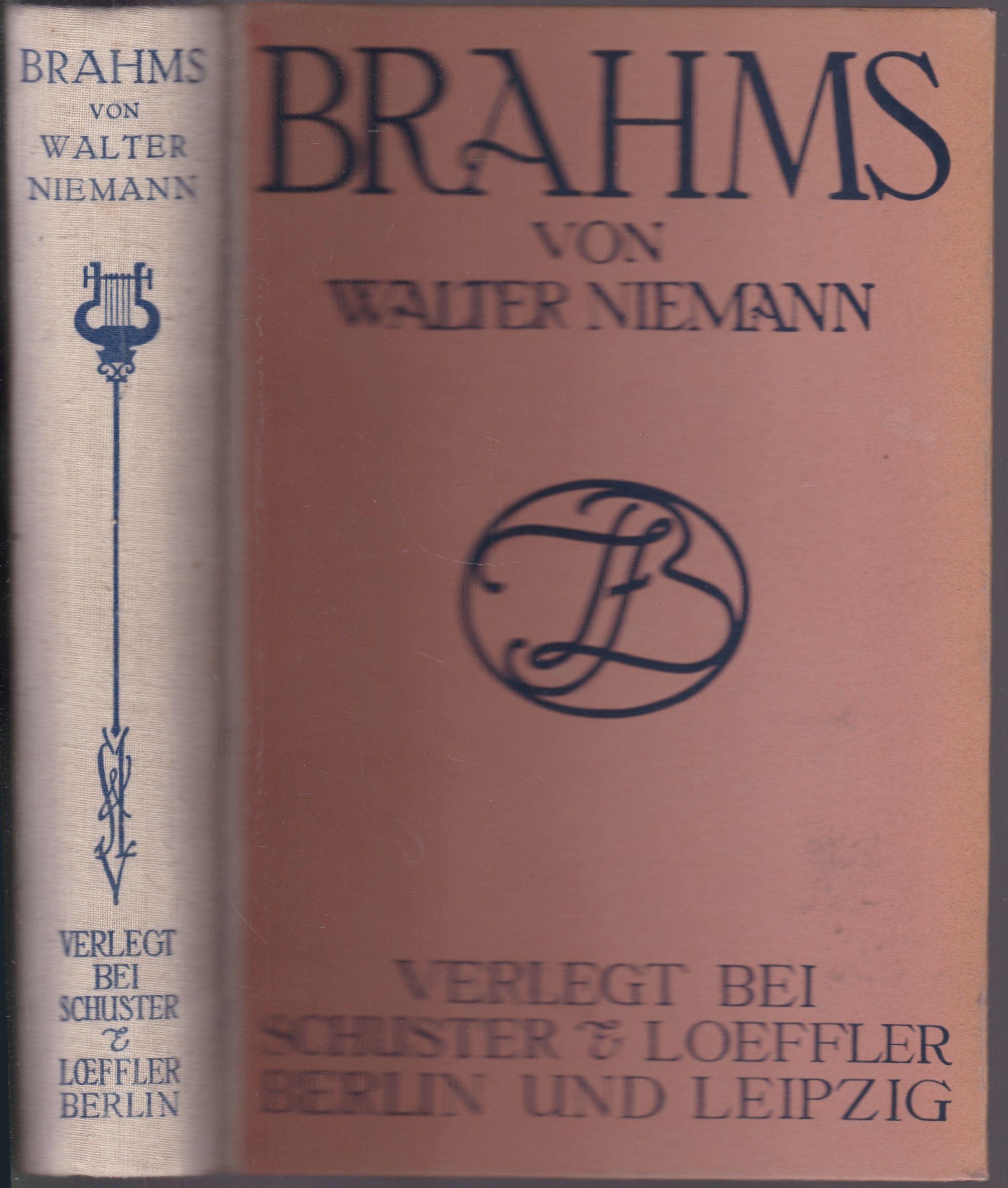 Brahms: Niemann, Walter