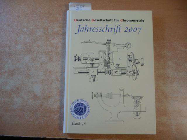 Deutsche Gesellschaft für Chronometrie : Jahresschrift 2003: Chronometrie, Deutsche Gesellschaft