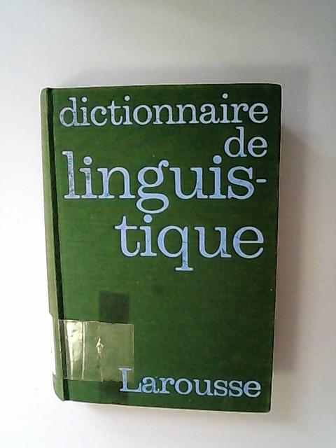 Dictionnaire de linguistique.: Dubois, Jean,