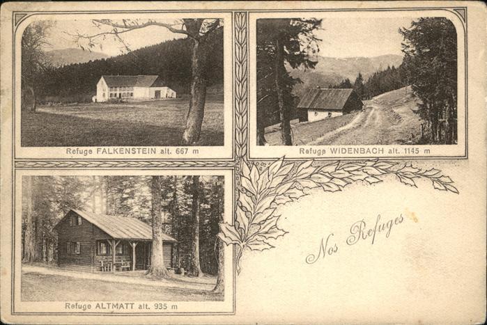 Postkarte Carte Postale 11092281 Strasbourg Alsace Nos Refuges Strasbourg: Manuscript / Paper ...