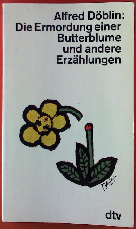 Alfred Döblin Ermordung Butterblume Abebooks