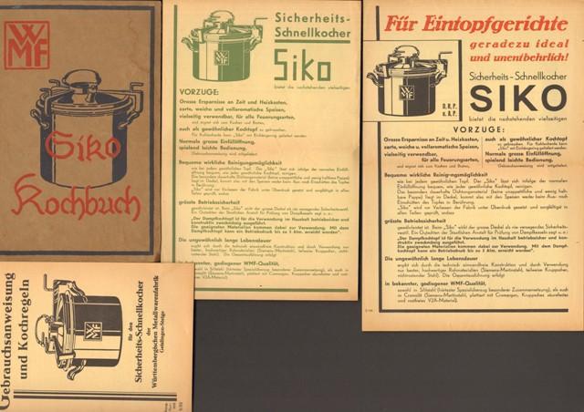 Kochbuch für den Sicherheits-Schnellkocher Siko der Württembergischen: Hainlen, Luise,