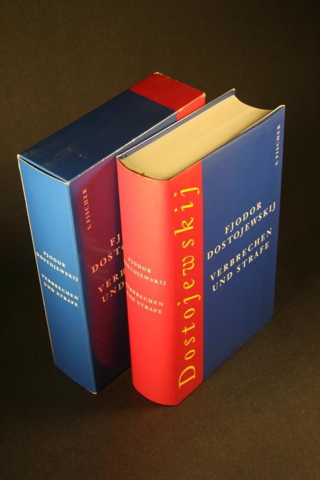 Verbrechen und Strafe: Roman. Aus dem Russischen von Swetlana Geier - Dostojewskij, Fjodor, 1821-1881