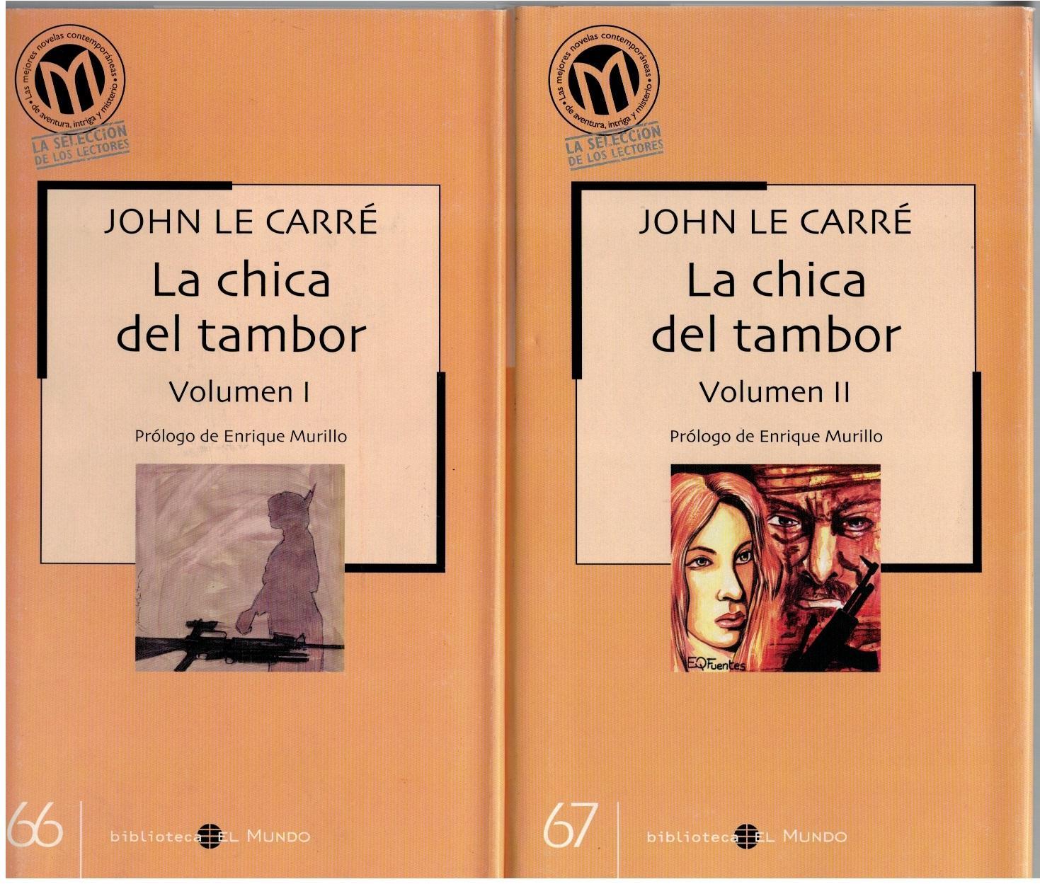 LA CHICA DEL TAMBOR I y II (obra completa) - John Le Carre