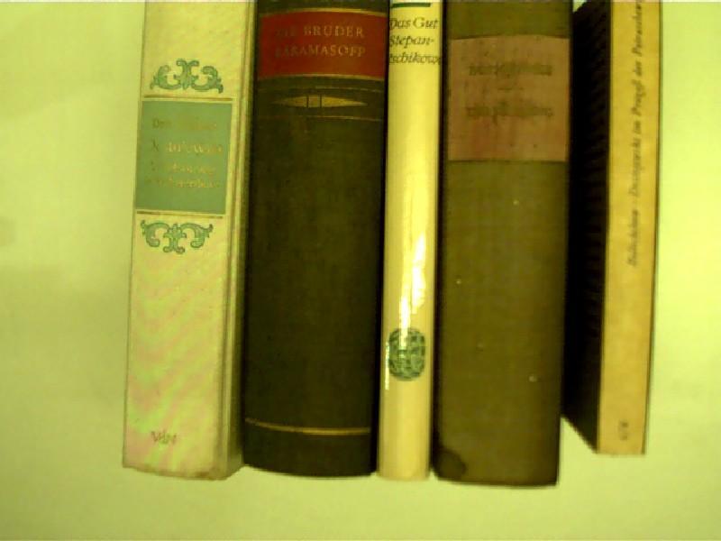 10x Bücher von F.M. Dostojewski: 1. Der: Dostojewski, Fjodor M.: