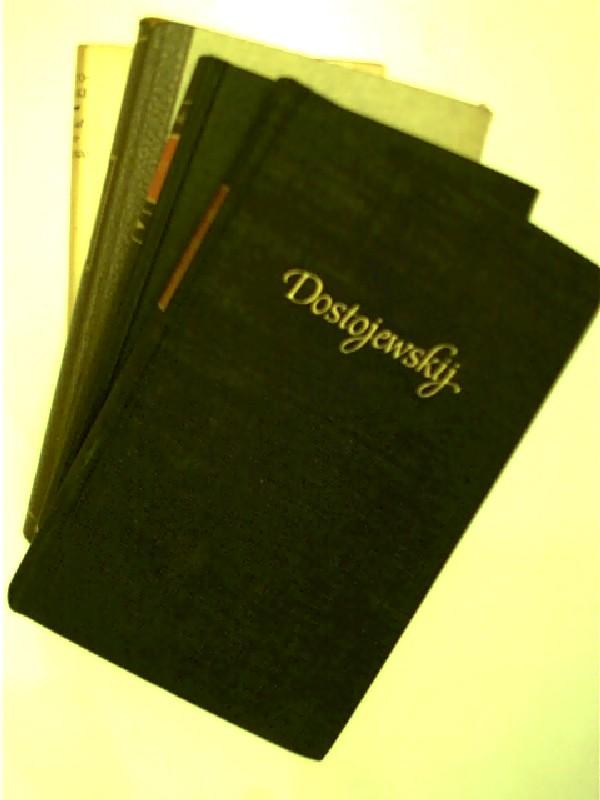 4x Bücher von F.M. Dostojewski: 1. Das: Dostojewski, Fjodor M.: