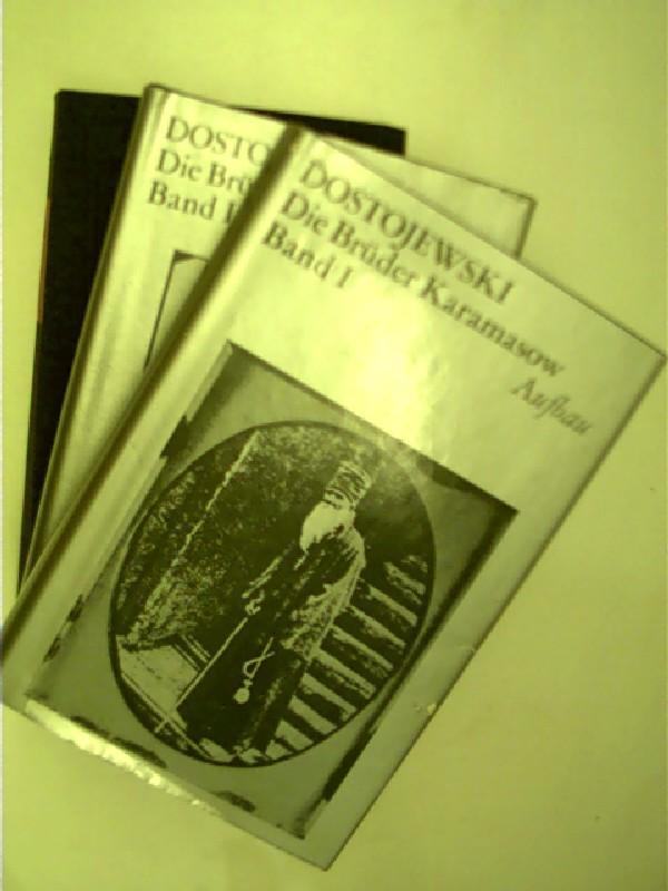 3x Bücher von F.M. Dostojewsi: 1. Der: Dostojewski, Fjodor M.: