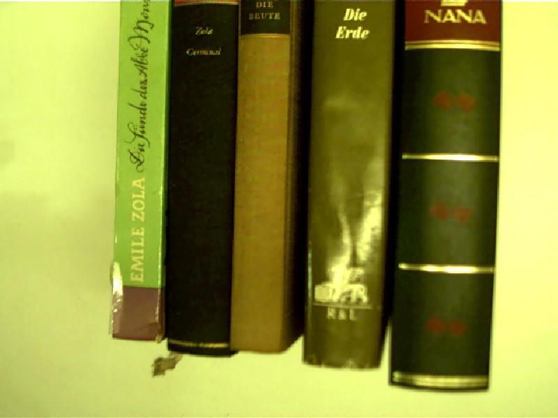 8x Bücher von Emile Zola: 1. Germinal: Zola, Émile: