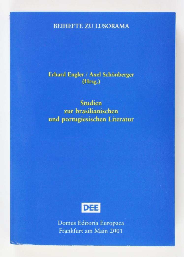 Studien zur brasilianischen und portugiesischen Literatur (Beihefte: Engler, Erhard und