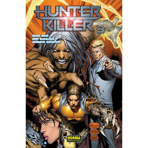 HUNTER/KILLER 3 - Waid, Mark;Basaldua, Eric