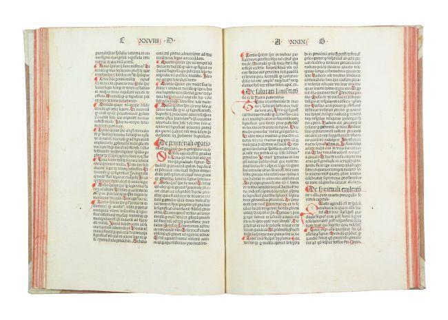 Expositio officii missae.: Parentinis, Bernardus de.