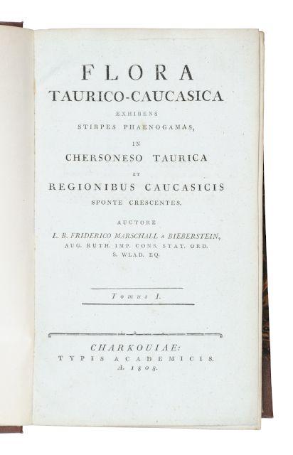 Flora Taurico-Caucasica exhibens stirpes phaenogamas, in Chersoneso: Marschall von Bieberstein,
