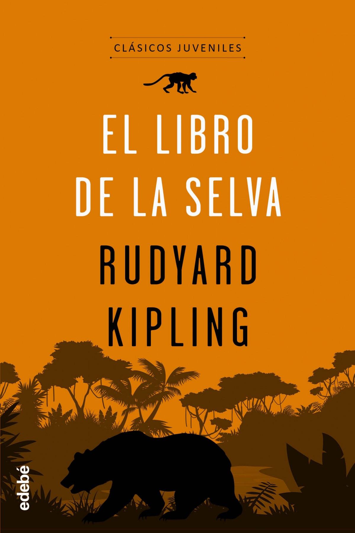 capa Hacia arriba Recogiendo hojas  El libro de la selva par Kipling, Rudyard: Nuevo (2019)   Imosver