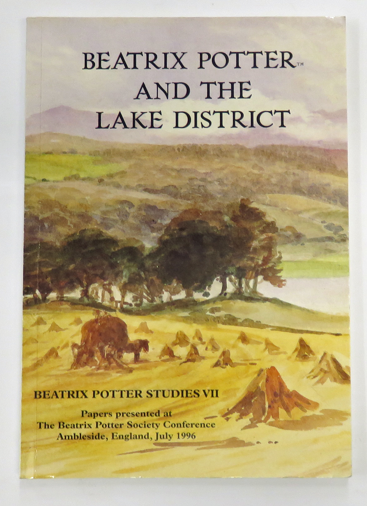 Beatrix Potter And The Lake District. Beatrix Potter Studies VII - Edited By Enid Bassom, Rowena Knox And Irene Whalley
