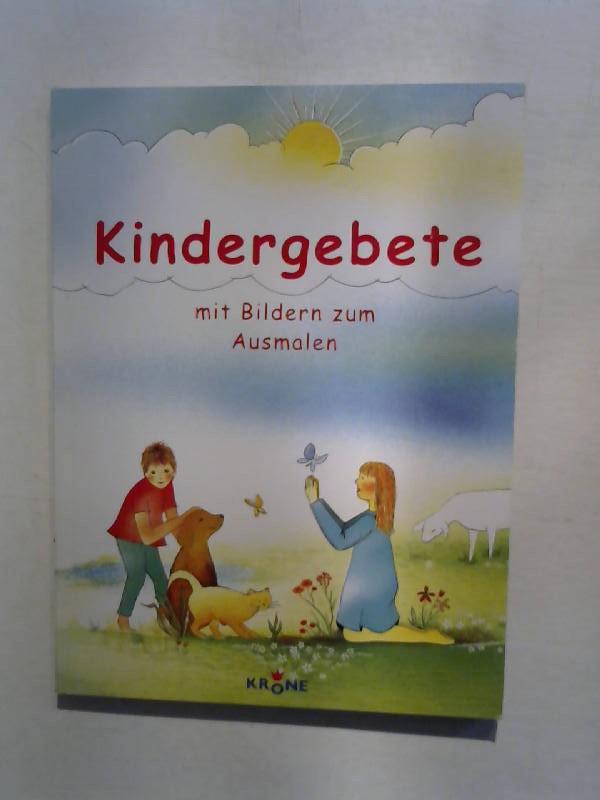 Kindergebete mit Bildern zum Ausmalen.: Kocher, Hans: