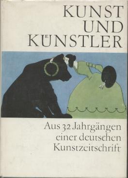 Kunst und Künstler. Aus 32 Jahrgängen einer: Feist, Ursula und
