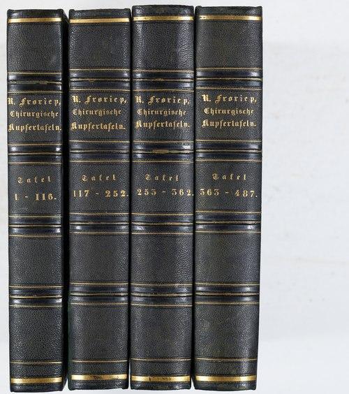 Chirurgische Kupfertafeln. 4 Bde. (all publ.).: Froriep, Ludwig Friedrich