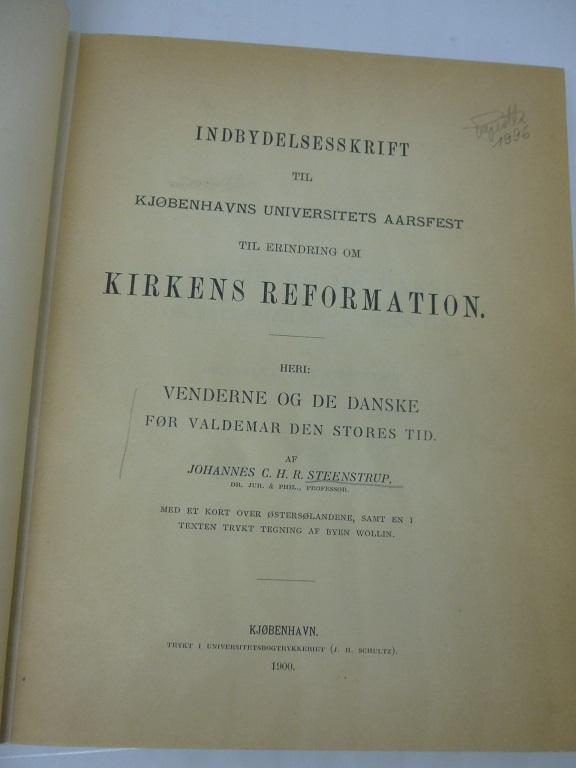 Kirkens Reformation: Steenstrup, Johannes C.