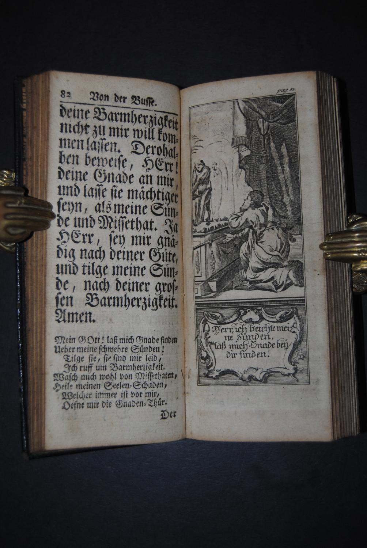 Christlicher Communicanten geistliches Schatz-Kästlein, Das ist: Neu-eingerichtetes: Andachtsbücher. - Beer,