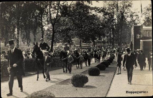 Foto Ansichtskarte / Postkarte Hoppegarten in Brandenburg,
