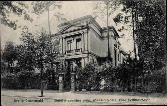 viteză dating berlin sanatorium)