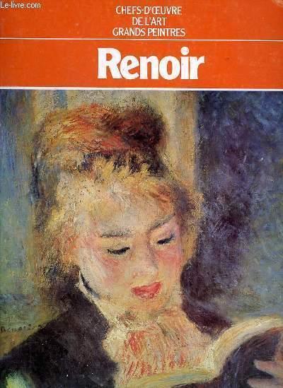 Grands Peintres Renoir Par Chefs D Oeuvre De L Art Bon Couverture Souple Le Livre