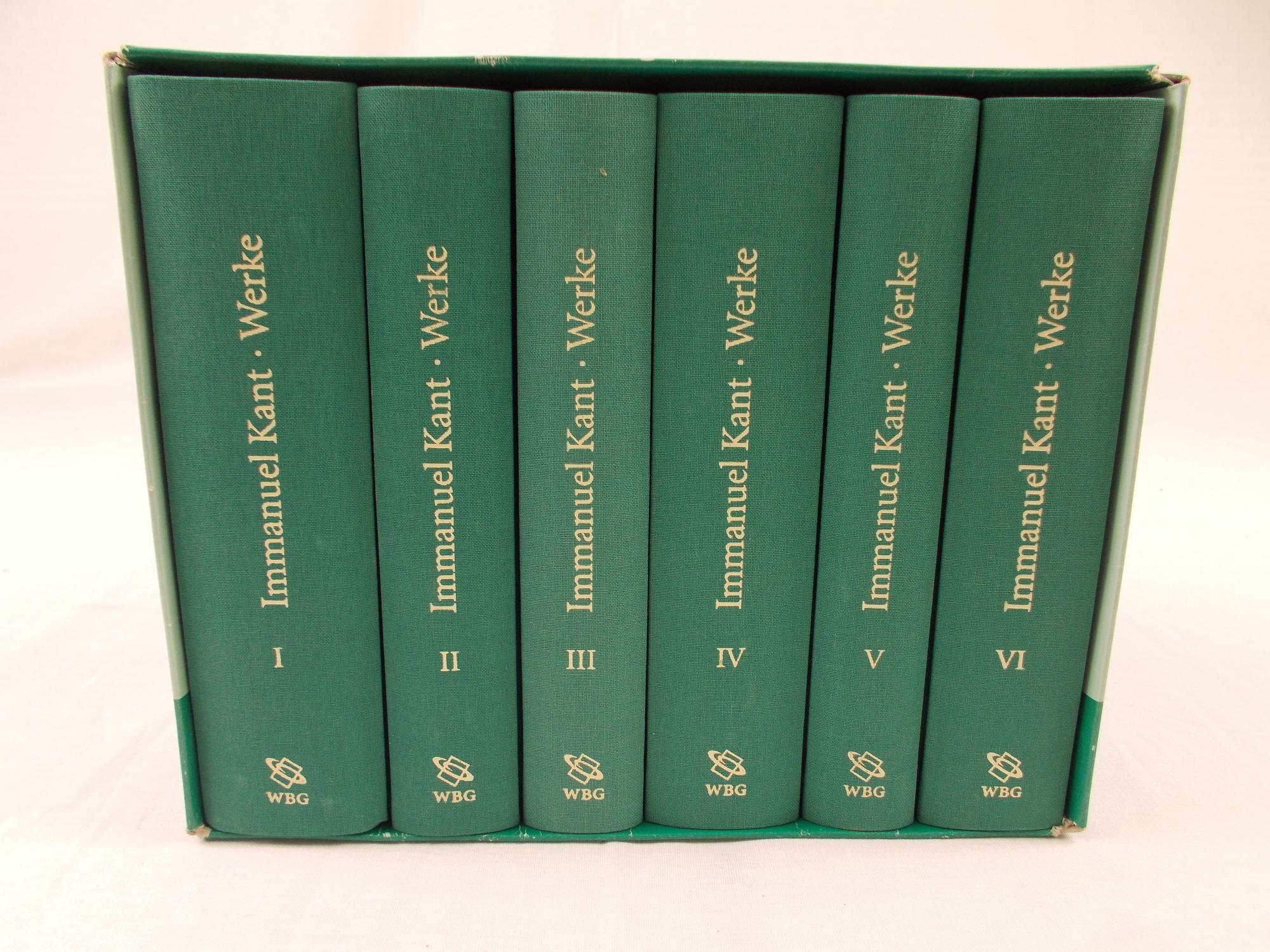 Immanuel Kant. Werke in sechs Baenden - Wilheilm Weischedel