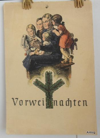 Vorweihnachten. [Adventskalender].: Haupt, Thea (Gesamtzusammenstellung):