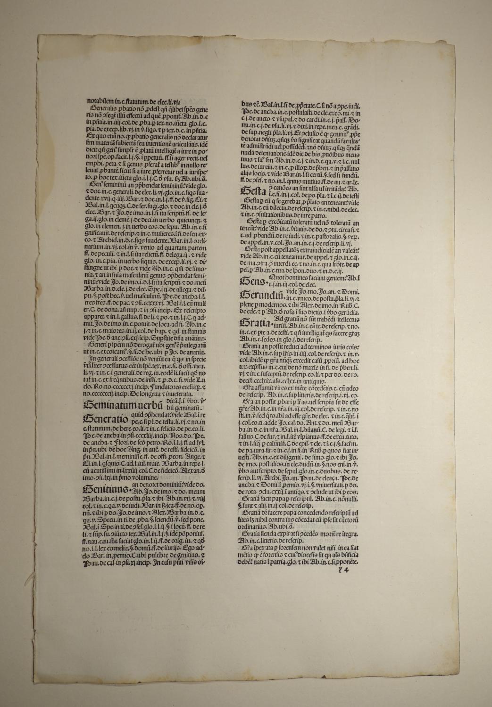 Repertorium in opera Nicolai Tudeschis (GW 7783,: Antonius Corsettus: