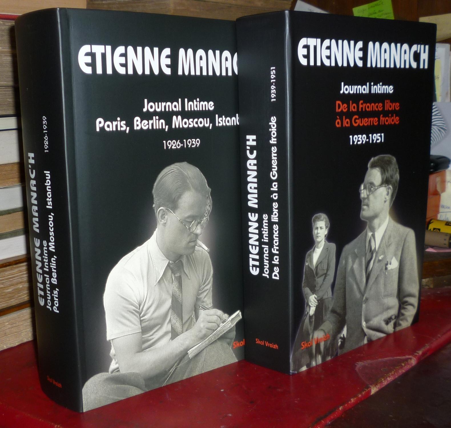 JOURNAL INTIME - PARIS, BERLIN, MOSCOU, ISTAMBUL - 1926