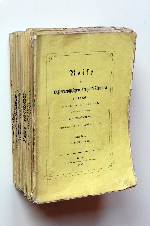 Reise der Oesterreichischen Fregatte Novara um die: Scherzer, Karl v.