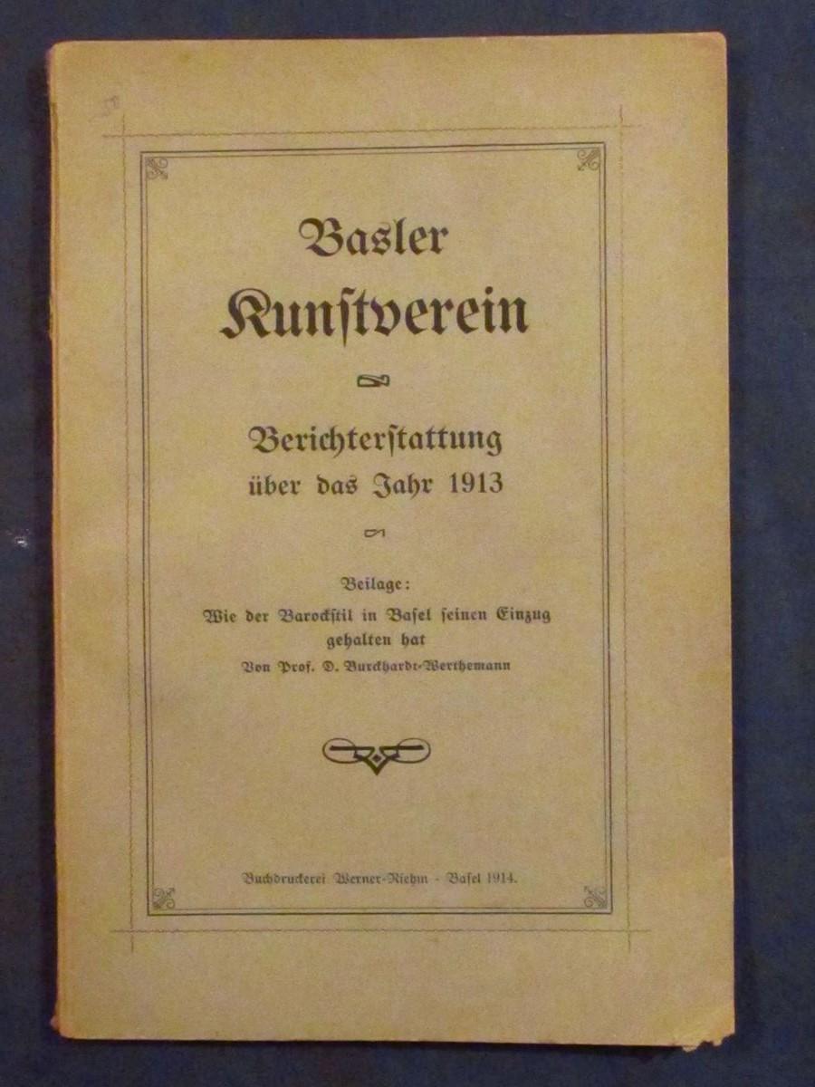 Wie der Barockstil in Basel seinen Einzug: Burckhardt-Werthemann, Daniel